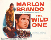 "Wild One, The (Columbia, 1953). Half Sheet (22"" X 28""). It was a problem that haunted American society in the..."