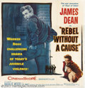 "Movie Posters:Drama, Rebel Without a Cause (Warner Brothers 1955). Six Sheet (81"" X 81""). The title alone summed up a generation of youth without..."