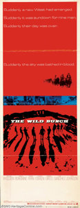 """Movie Posters:Western, Wild Bunch, The (Warner Brothers, 1969). Insert (14"""" X 36""""). Folded- Fine. ..."""