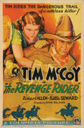 "Movie Posters:Western, The Revenge Rider (Columbia, 1935). One Sheet (27"" X 41""). VeryFine +. ..."