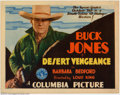 "Movie Posters:Western, Desert Vengeance (Columbia, 1931). Title Lobby Card (11"" X 14"").Very Fine+. ..."