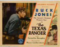 "Movie Posters:Western, The Texas Ranger (Columbia, 1934). Title Lobby Card (11"" X 14"").Fine-. ..."