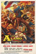 "Movie Posters:Western, The Alamo (United Artists, 1960). Roadshow One Sheet (27"" X 41"").This is the extremely rare roadshow One Sheet for John Way..."
