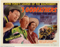 "Movie Posters:Western, Three Godfathers (MGM, 1948). Title Lobby Card (11"" X 14""). VeryFine/Near Mint. ..."