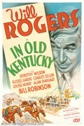 "Movie Posters:Comedy, In Old Kentucky (Fox, 1935). One Sheet (27"" X 41"") This film was tobe the great Will Rogers's last film, as it was released..."
