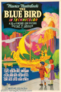 """Movie Posters:Fantasy, Bluebird, The (20th Century Fox, 1939). One Sheet (27"""" X 41""""). Shirley Temple stars in this classic children's fantasy about..."""
