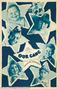 "Movie Posters:Short Subject, Our Gang Comedy (MGM, 1930). One Sheet (27"" X 41""). All of themembers of Hal Roach's Our Gang are featured on this rotograv..."