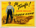 """Movie Posters:Drama, Citizen Kane (RKO, 1941). Title Lobby Card (11"""" X 14""""). Any poster from what most critics call the best film ever made is sc..."""