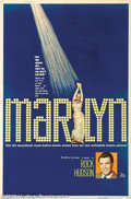 Movie Posters:Miscellaneous, Marilyn (20th Century Fox, 1963). ) 40 X 60. Shortly after MarilynMonroe's death, Fox created this documentary about her li...