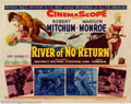 "Movie Posters:Adventure, River of No Return (20th Century Fox, 1954). Title Lobby Card (11""X 14"").Near Mint. ..."