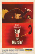 "Movie Posters:Horror, Dial M For Murder (Warner Brothers, 1954). One Sheet (27"" X 41""). Grace Kelly made her first film for Alfred Hitchcock in th..."