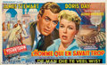 """Movie Posters:Mystery, Man Who Knew Too Much, The (Paramount, 1956). Belgian (21.5"""" X 13""""). This film has the distinction of being the only Hitchco..."""