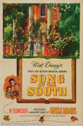 "Movie Posters:Animated, Song of the South (RKO, 1946). One Sheet (27"" X 41""). Very Fine+...."