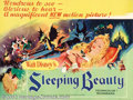 Movie Posters:Animated, Sleeping Beauty (Buena Vista, 1959). British Quad. Designer EyvindEarle's art was used throughout this Disney animated clas...