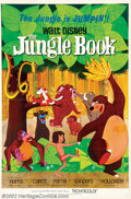 "Movie Posters:Animated, Jungle Book (Buena Vista, 1967). One Sheet (27"" X 41""). NearMint/Mint. ..."