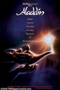 "Movie Posters:Animated, Aladdin (Buena Vista, 1992). One Sheets (27"" X 41"") (2). Both theadvance and the regular One Sheets are offered here. Both ..."