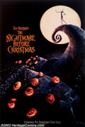 """Movie Posters:Animated, Nightmare Before Christmas (Touchstone, 1993). Lenticular One Sheet(27"""" X 41""""). Tim Burton's highly creative animated film ..."""
