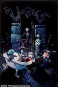 "Movie Posters:Animated, Nightmare Before Christmas (Touchstone, 1993). Alternate LenticularOne Sheet (27"" X 41""). As if the advance lenticular wasn..."