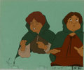 Movie Posters:Animated, Lord of the Rings, The (United Artists, 1978). Animation Cells.Frodo Baggins and his pal, Sam Gamgee, are featured on these...