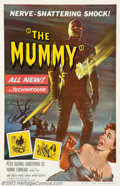 "Movie Posters:Horror, Mummy (Universal, 1959). One Sheet (27"" X 41""). Hammer's obsession with remaking Universal's classic horror pictures led the..."