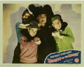"Movie Posters:Comedy, Ghosts on the Loose (Monogram, 1943). Lobby Card (11"" X 14""). Thisis the card from the set. Who's got hold of whom? Fine wi..."