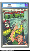 Golden Age (1938-1955):Horror, Adventures Into the Unknown #26 Bethlehem pedigree (ACG, 1951) CGCVF/NM 9.0 Cream to off-white pages. Ogden Whitney cover. ...