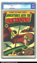 Golden Age (1938-1955):Horror, Adventures Into the Unknown #31 Bethlehem pedigree (ACG, 1952) CGCNM- 9.2 Cream to off-white pages. Overstreet 2002 NM 9.4 ...