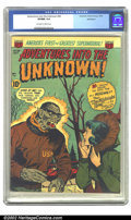 Golden Age (1938-1955):Horror, Adventures Into the Unknown #36 Bethlehem pedigree (ACG, 1952) CGCVF/NM 9.0 Off-white to white pages. Overstreet 2002 NM 9....