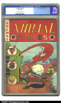 Golden Age (1938-1955):Funny Animal, Animal Fables #6 (EC, 1947) CGC VG+ 4.5 Cream to off-white pages.Overstreet 2002 GD 2.0 value = $22; FN 6.0 value = $66....