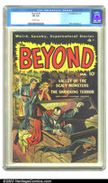 Golden Age (1938-1955):Horror, Beyond #2 (Ace, 1951) CGC VF 8.0 Off-white pages. Mike Sekowskyart. Overstreet 2002 VF 8.0 value = $145. ...