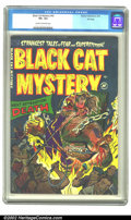 Golden Age (1938-1955):Horror, Black Cat Mystery #42 File copy (Harvey, 1953) CGC VF+ 8.5 Cream tooff-white pages. Overstreet 2002 VF 8.0 value = $116. ...