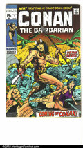 Bronze Age (1970-1979):Miscellaneous, Conan The Barbarian Lot of 1-24 complete (Marvel, 1973) Condition:average VF. From an original owner collection, this compl...