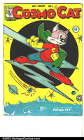 Golden Age (1938-1955):Funny Animal, Cosmo Cat #1 (Fox, 1946). FN....