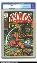 Bronze Age (1970-1979):Horror, Creatures on the Loose #10 (Marvel, 1971) CGC NM 9.4 Off-whitepages. Overstreet 2002 NM 9.4 value = $45....