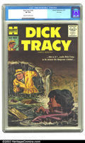 Silver Age (1956-1969):Adventure, Dick Tracy #109 File copy (Harvey, 1957) CGC VF 8.0 Cream to off-white pages. Overstreet 2002 VF 8.0 value = $60....