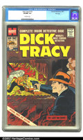 Silver Age (1956-1969):Miscellaneous, Dick Tracy Comics Monthly #132 File copy (Harvey, 1959) CGC VF/NM 9.0 Off-white pages. Overstreet 2002 NM 9.4 value = $100. ...