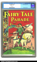 Golden Age (1938-1955):Humor, Fairy Tale Parade #5 (Dell, 1943) CGC F/VF 7.0 Off-white pages. Walt Kelly cover & art. Overstreet 2002 FN 6.0 value = $108;...