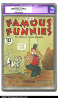 Golden Age (1938-1955):Humor, Famous Funnies #51 (Eastern Color, 1938) CGC Apparent VG/FN 5.0 Slight (A) Cream to off-white pages. Restoration includes: s...