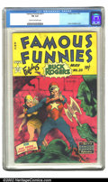Golden Age (1938-1955):Science Fiction, Famous Funnies #211 (Eastern Color, 1954) CGC FN 6.0 Cream tooff-white pages. Frank Frazetta cover. Overstreet 2002 FN 6.0 ...