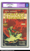 Golden Age (1938-1955):Science Fiction, Famous Funnies #214 (Eastern Color, 1954) CGC Apparent VG Slight(A) Off-white pages. Overstreet 2002 GD 2.0 value = $114; F...
