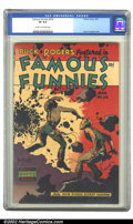 Golden Age (1938-1955):Science Fiction, Famous Funnies #216 (Eastern Color, 1955) CGC VF 8.0 Cream tooff-white pages. Overstreet 2002 VF 8.0 value = $712....