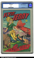 Golden Age (1938-1955):Adventure, Flyin Jenny #2 Mile High pedigree (Pentagon, 1947) CGC VF 8.0 White pages. Matt Baker cover. Overstreet 2002 VF 8.0 value = ...