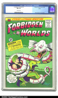 Silver Age (1956-1969):Adventure, Forbidden Worlds #131 Boston pedigree (ACG, 1965) CGC NM 9.4 Off-white pages. Pete Costanza cover and art. Overstreet 2002 N...