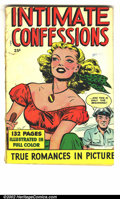 Golden Age (1938-1955):Romance, Fox Giants Intimate Confessions (Fox, 1950). GD....