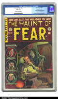 Golden Age (1938-1955):Horror, The Haunt of Fear #26 Gaines File pedigree 3/12 (EC, 1954) CGC NM9.4 Off-white to white pages. Contains anti-censorship edi...