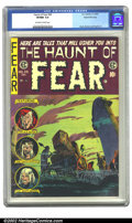 Golden Age (1938-1955):Horror, The Haunt of Fear #28 Gaines File pedigree 3/12 (EC, 1954) CGCVF/NM 9.0 Off-white to white pages. Overstreet 2002 NM 9.4 va...