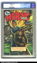 Golden Age (1938-1955):Non-Fiction, Heroic Comics #68 File copy (Eastern Color, 1951) CGC NM 9.4 Creamto off-white pages. H.C. Kiefer cover. Overstreet 2002 NM...