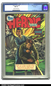 Heroic Comics #68 File copy (Eastern Color, 1951) CGC NM 9.4 Cream to off-white pages. H.C. Kiefer cover. Overstreet 200...