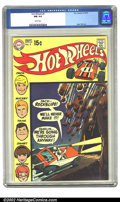 Bronze Age (1970-1979):Miscellaneous, Hot Wheels #4 (DC, 1970) CGC NM 9.4 White pages. Alex Toth art. Overstreet 2002 NM 9.4 value = $55. ...