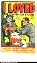 Golden Age (1938-1955):Romance, I Loved #28 (Fox, 1949). First issue. GD....